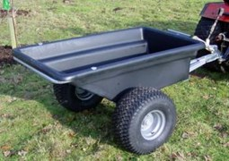 Plastic Bodied Trailer Wide Profile Wheels QPTP