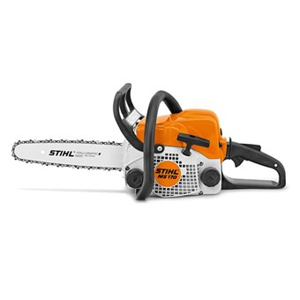 Stihl MS 170 Petrol Chainsaw. Best-selling entry level saw.