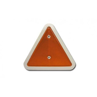 Reflector Red Screw in Triangle No EL038