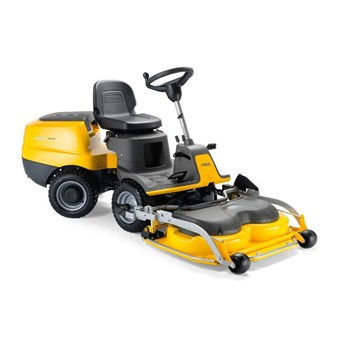 Essential PARK 220 Petrol Front Cut mower with a 95cm Combi EL QF Cutter Deck