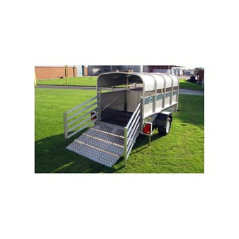 Indespension 8' x 4' Braked Pig and Sheep Trailer (1400kgs) LT14084