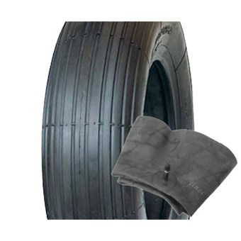 Trailer Tyre and Tube Size 4.00 x 6 No  357584