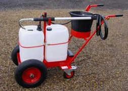 Compact Trolley Mounted Powered Waterer HBWP