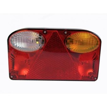 A Pair of Offside & Nearside Rounded Horizontal Plug in Rear Light Cluster. EEC Specification No EL310 & EL352