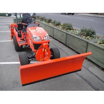 Tomlins Hydraulic lift manual swing snow Plough Fits Kubota BX2350