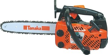 Tanaka TCS 3401 PRO Top Handle Petrol Chainsaw 12