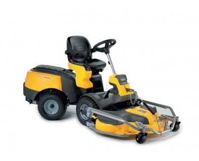 Park Pro 340 IX 4WD Ride on Lawnmower + 110cm Pro EL Quick Flip Deck