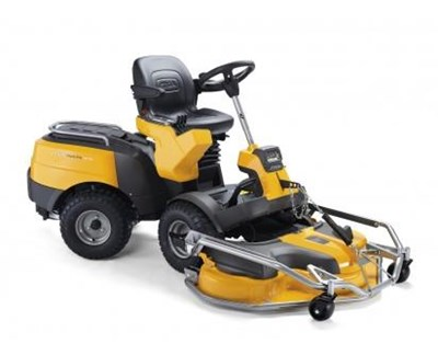 Park Pro 740 IOX 4WD Ride On Lawnmower + 125cm Pro EL Quick Flip Deck