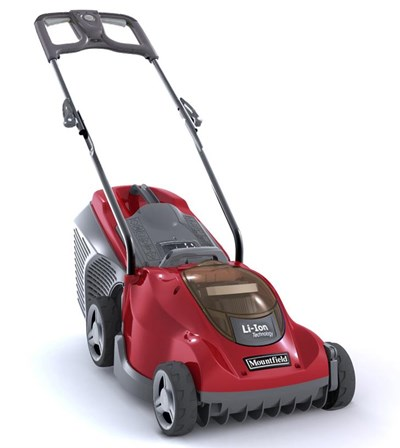 Princess 34Li Freedom48 Electric 4 Wheel Rear Roller Lawnmower