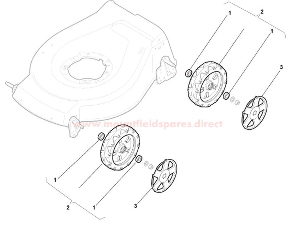 NT Wheels with Bearing