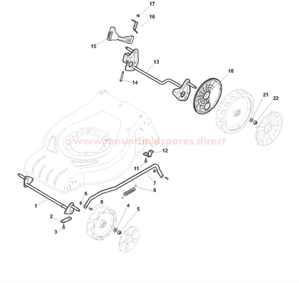 Axles and Height Adjuster