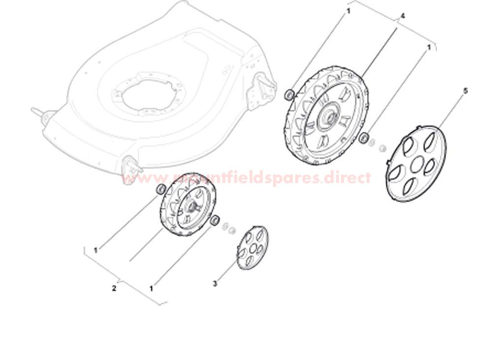 Wheels with Bearing