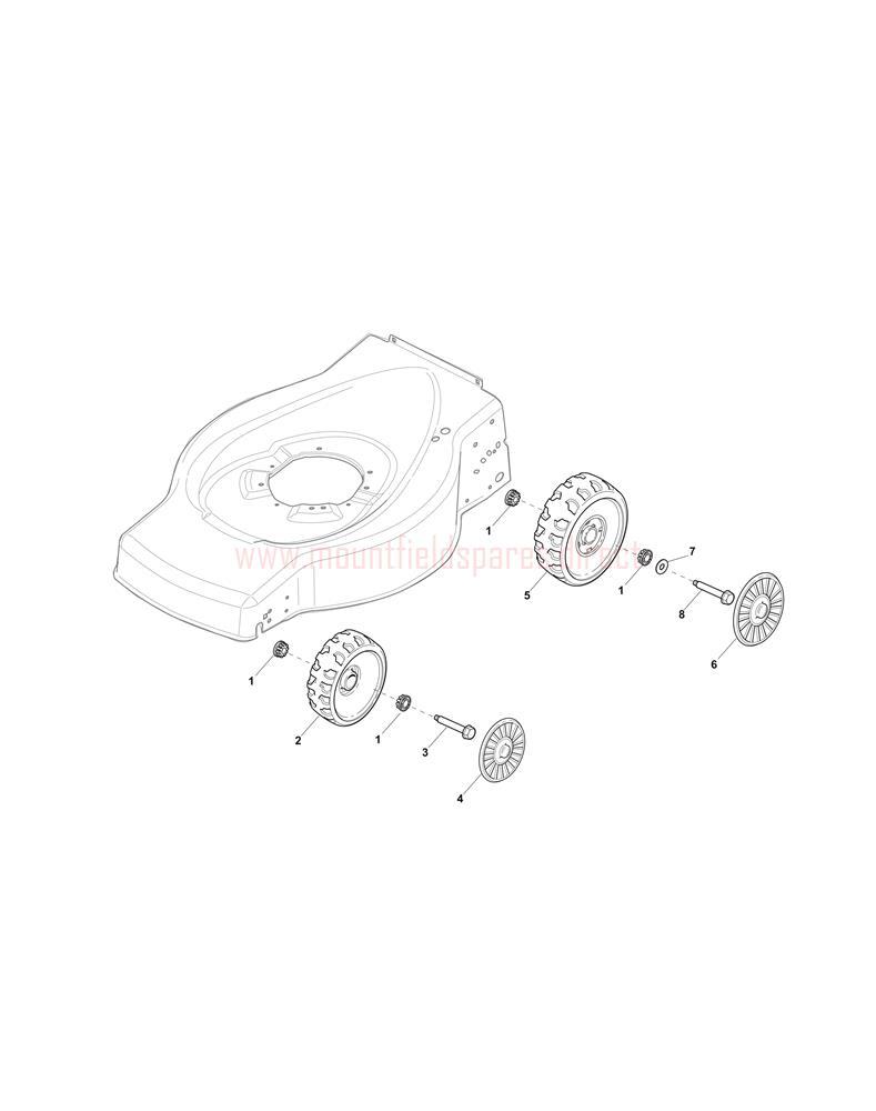 Wheels and Hub Caps