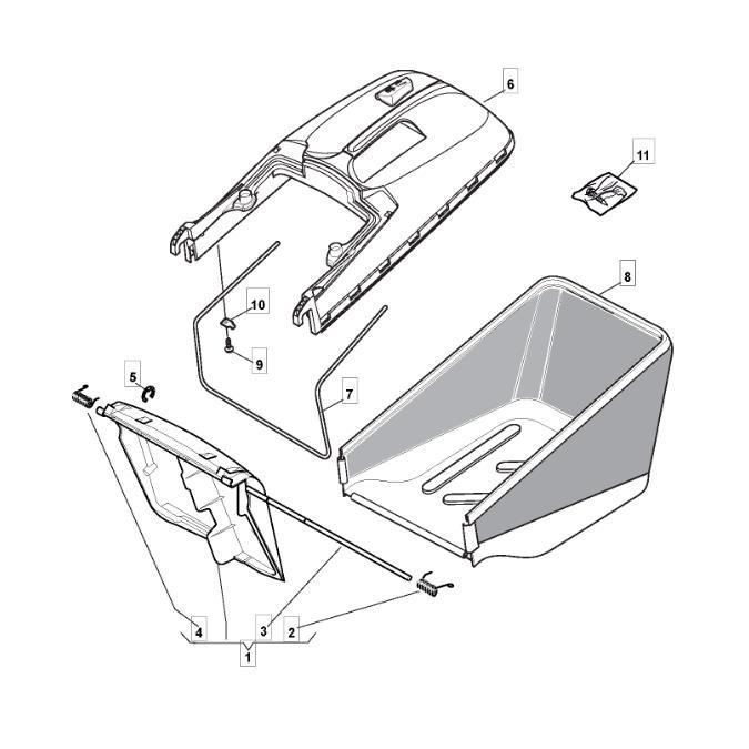 Mountfield Lawnmower Circlip D=6 Part No.112000930//0