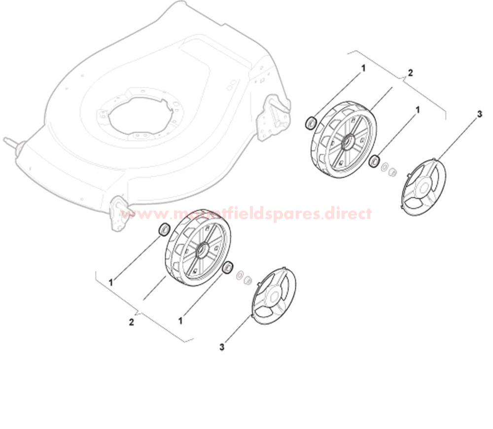 DELTA Wheels with Bearing
