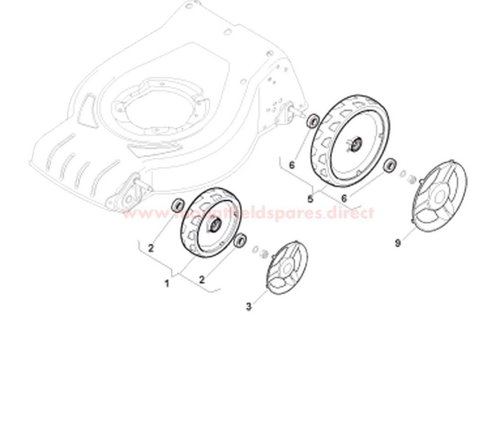 Wheels and Hub Cover