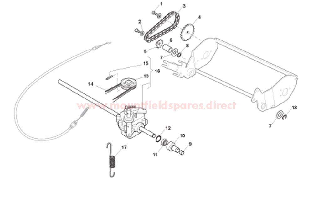 Gearbox & Drive Assy.