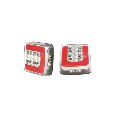 Glo-Trac Square Rear Combination Lamp No EL981V