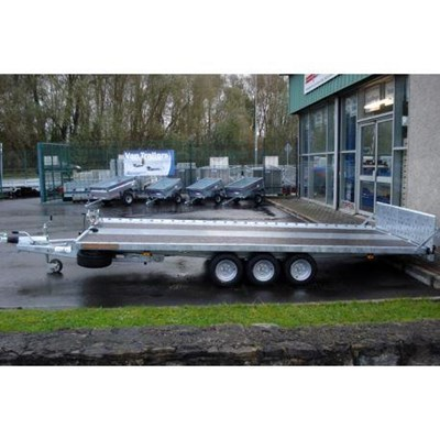 15'9 x 7' Tri Axle Tiltdeck Car Transporter Trailer No TD35167T